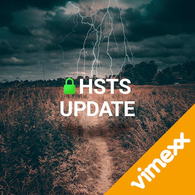 HSTS vimexx