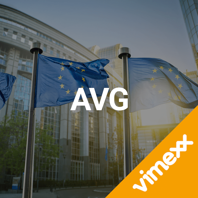 Vimexx AVG wetgeving