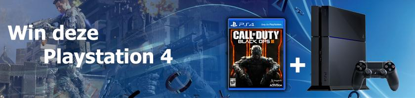 Win een Playstation 4 inclusief Call of Duty Black Ops 3