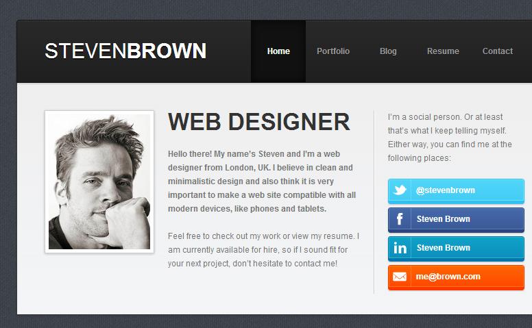 online resumes website